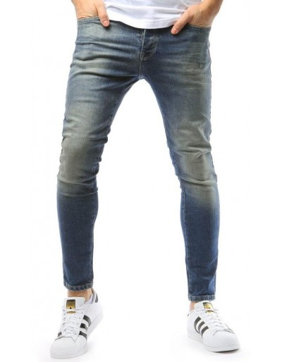 Pánské modré džínové kalhoty UX1734