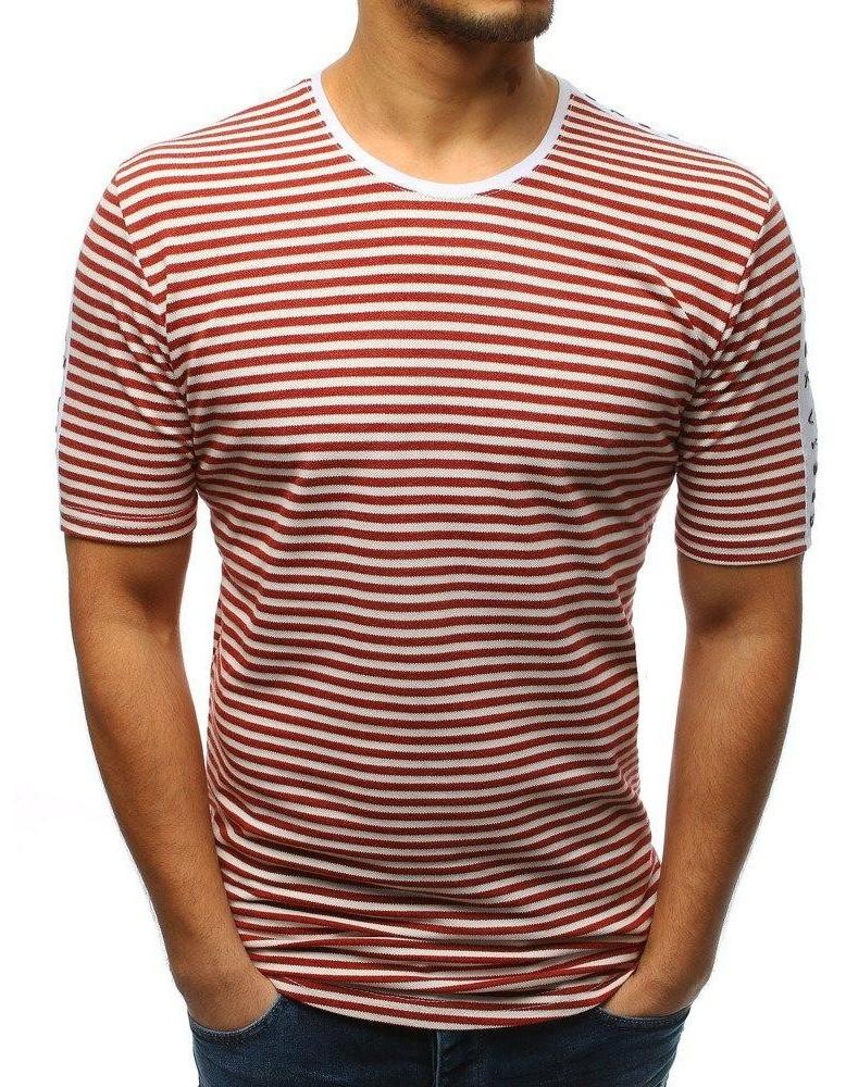 Burgundské pánské tričko RX3194 s potiskem
