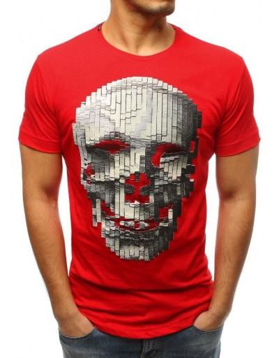 Červené pánské tričko RX3203 s potiskem