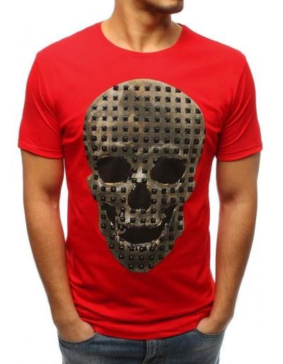 Červené pánské tričko RX3207 s potiskem