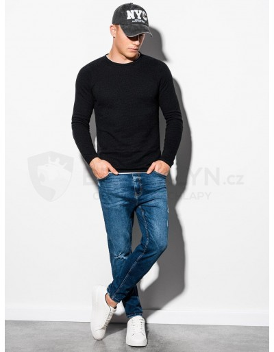 Men's sweater E121 - black