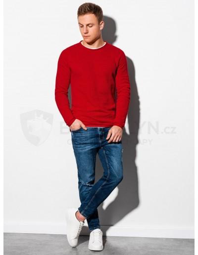 Men's sweater E121 - red