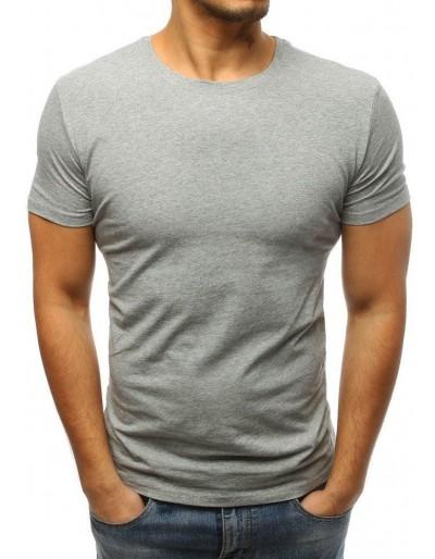 Pánské obyčejné šedé tričko RX3275