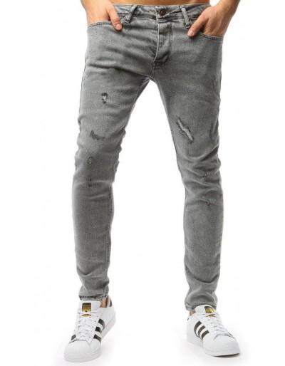Šedé pánské džíny UX1752