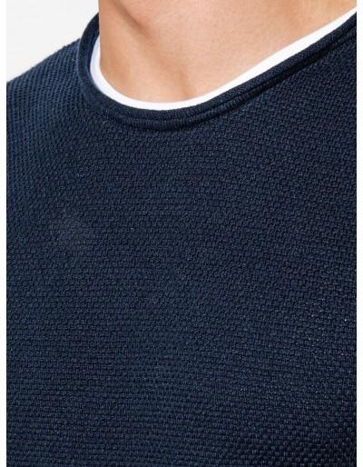 Men's sweater E121 - navy