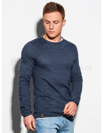 Men's sweater E121 - navy/melange