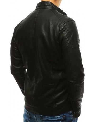 Kurtka męska skórzana czarna TX2631