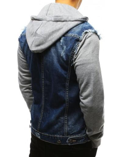 Kurtka męska jeansowa niebieska TX2638
