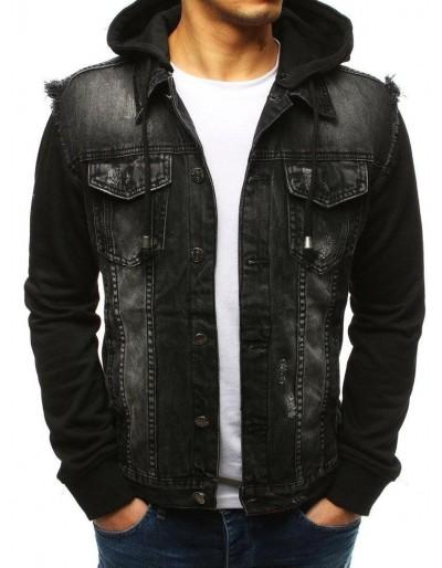 Černá pánská džínová bunda TX2639