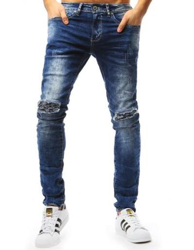 Pánské modré džínové kalhoty UX1794