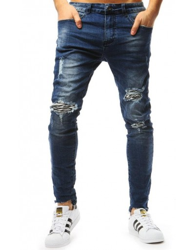 Pánské modré džínové kalhoty UX1804