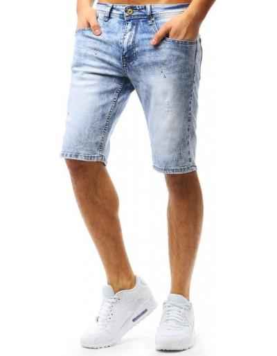 Spodenki jeansowe męskie niebieskie SX0755