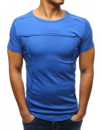 Pánské hladké modré tričko RX3358