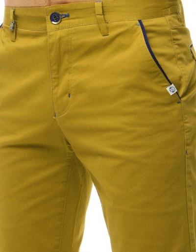 Spodenki męskie żółte SX0766