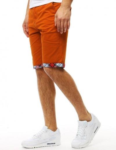 Oranžové pánské kraťasy SX0769