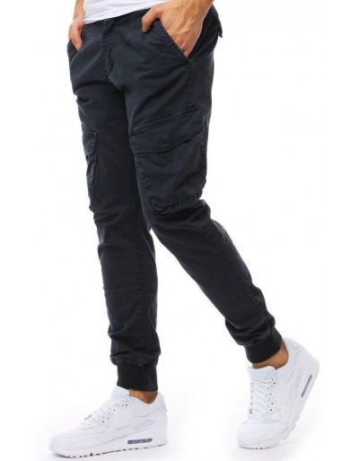 Šedé pánské jogger kalhoty UX1825