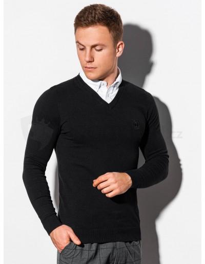 Men's sweater E120 - black