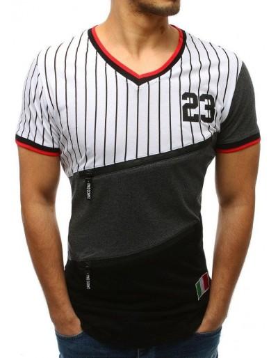 Pánské bílé tričko RX3409