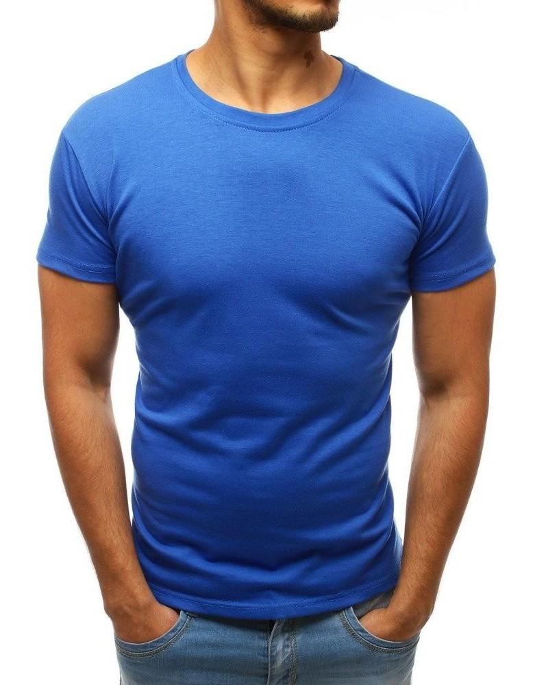 Modré pánské obyčejné tričko RX3415