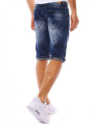 Spodenki jeansowe męskie granatowe SX0777