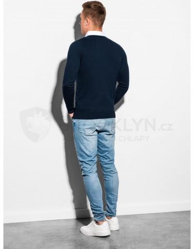 Men's sweater E120 - navy