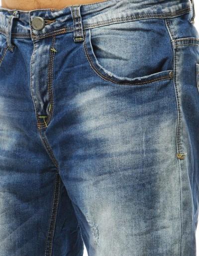 Spodenki jeansowe męskie niebieskie SX0784