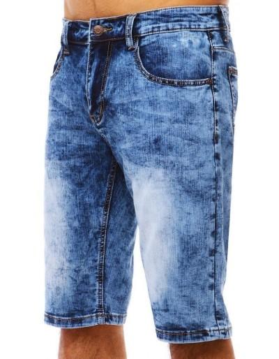 Spodenki jeansowe męskie niebieskie SX0785