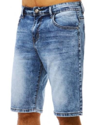 Spodenki jeansowe męskie niebieskie SX0787
