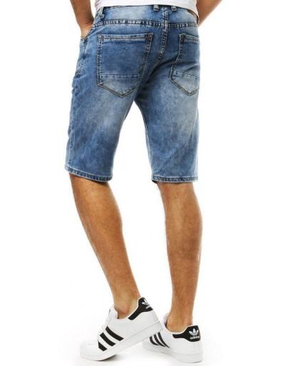 Spodenki jeansowe męskie niebieskie SX0788