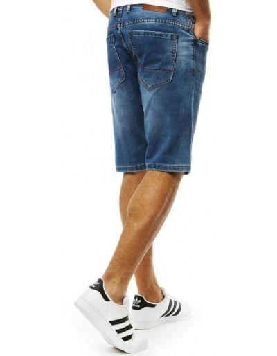 Spodenki jeansowe męskie granatowe SX0790