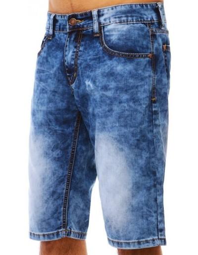 Spodenki jeansowe męskie niebieskie SX0792