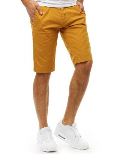 Spodenki męskie żółte SX0795
