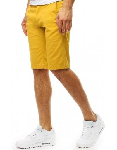 Žluté pánské kraťasy SX0796