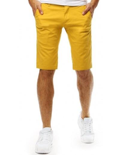 Spodenki męskie żółte SX0796