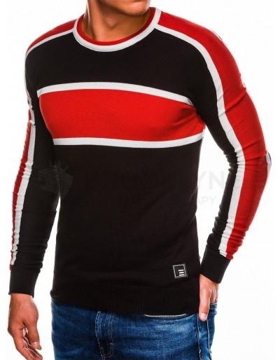 Men's sweater E145 - black