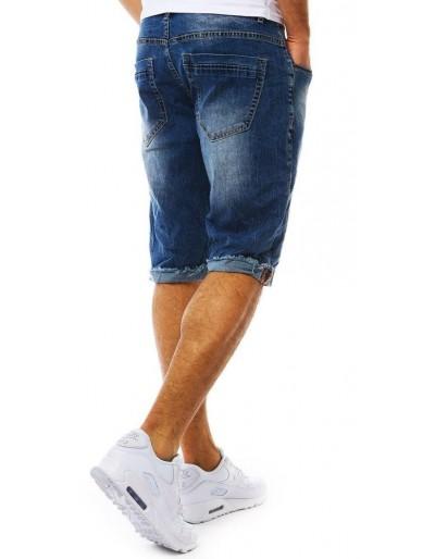 Spodenki jeansowe męskie niebieskie SX0805