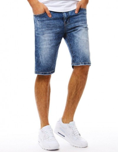 Spodenki jeansowe męskie niebieskie SX0806