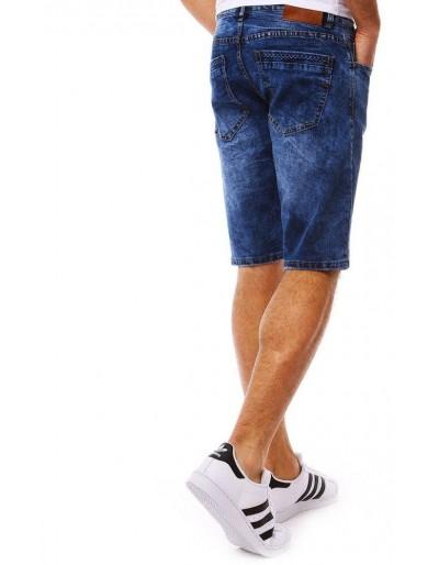Spodenki jeansowe męskie niebieskie SX0807