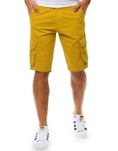 Spodenki męskie żółte SX0809