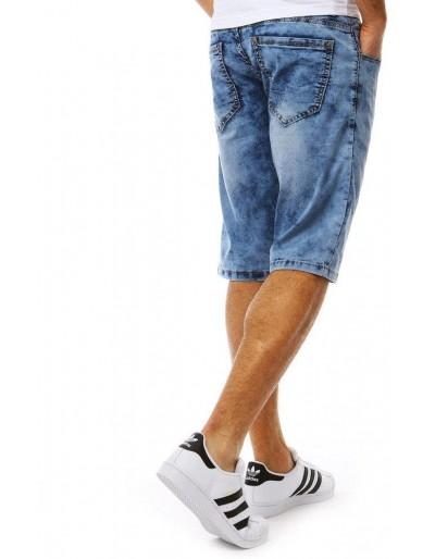 Spodenki męskie jeansowe niebieskie SX0816