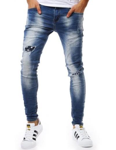 Modré pánské džíny UX1830