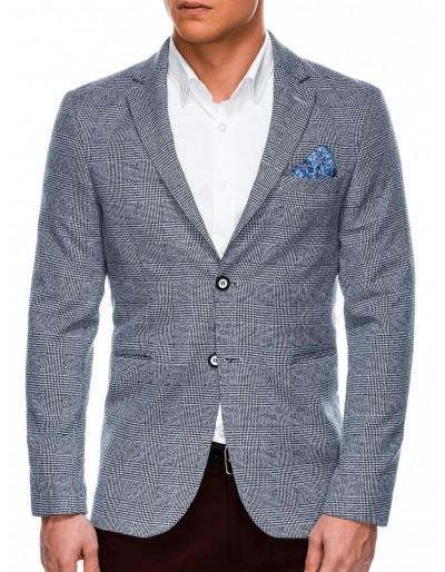 Men's casual blazer jacket M92 - dark navy