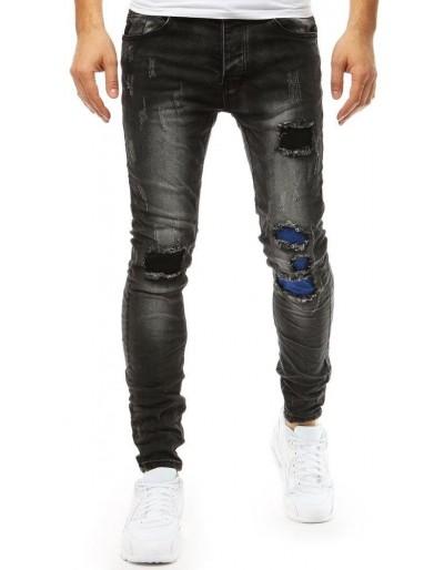Pánské černé džínové kalhoty UX1851