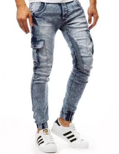 Modré pánské džíny běžec UX1853