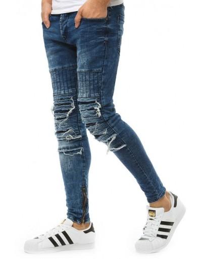 Pánské modré džínové kalhoty UX1854