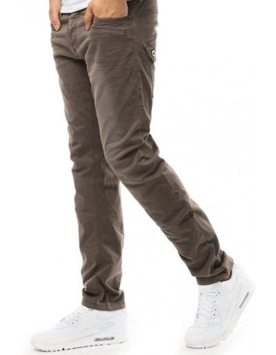 Pánské kalhoty s béžovými džínoviny UX1857