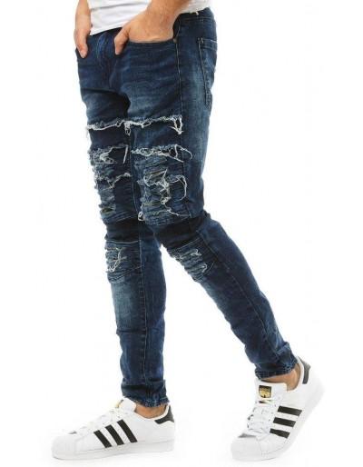 Pánské modré džínové kalhoty UX1864