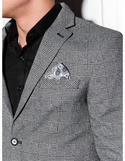 Men's casual blazer jacket M92 - black