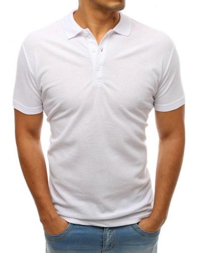 Pánská bílá polokošile PX0176