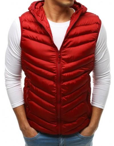 Pánská prošívaná vesta s kapucí TX2661